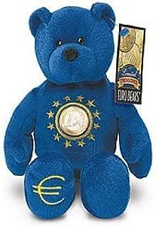 1 X One Euro Coin Bear