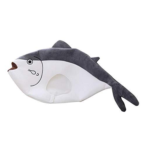 Cappello di Pesce Palla di Cartone Animato, Copricapo di Peluche Divertente, Cappello Copricapo di Pesce Palla salato Carino, Puntelli Cosplay per Natale di Halloween