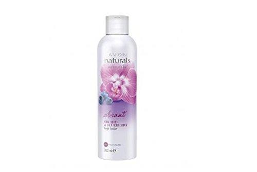 AVON Naturals Orchidee & Heidelbeere Duschgel