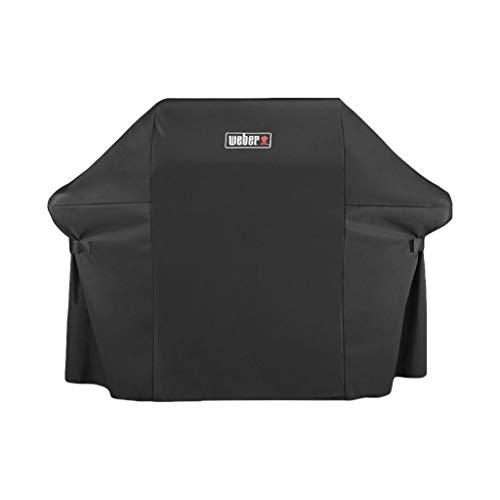 Weber Abdeckhaube Premium für Genesis 400 Serie, schwarz, 113.0cm H x 63.5cm B x 165.1cm T, 7135