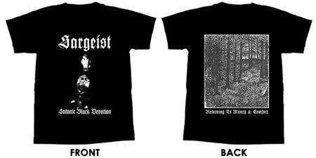 Sargeist - Satanic Black Devotion - T-Shirt