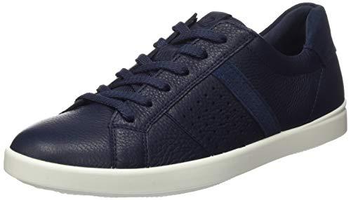 Ecco Damen LEISURE Sneaker, Blau (Marine/Marine 50595), 40 EU
