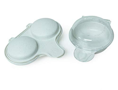 Nordic Ware 3-in-1 Breakfast set, 2-Piece, White