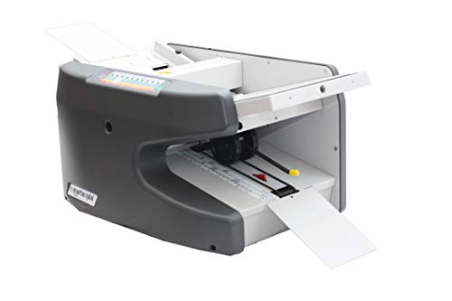 Martin Yale 1611 Ease-of-Use AutoFolder, Handles 8.5' x 14' Paper from 16 Pound Bond to 70 Pound Index, Charcoal