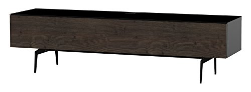 Sonorous STD 360F-BLK-TOR-SL Studio TV-Lowboard für 177,8 cm (70 Zoll) Fernseher schwarz/tortona