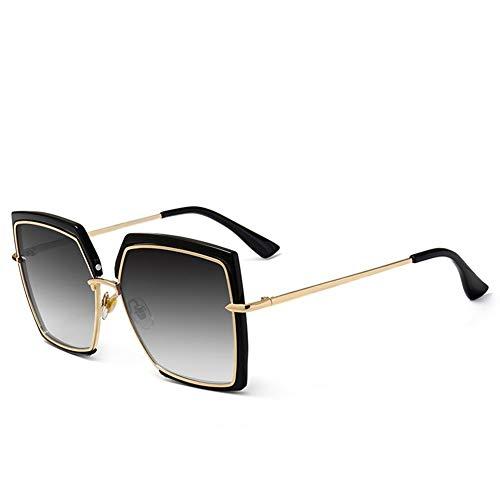 ShawnBlue , Las Nuevas señoras de Gafas de Sol, Gafas de Moda del Ojo de Gato, Parasol for el Recorrido al Aire Libre (Size : C7 Double Gray Tablets)