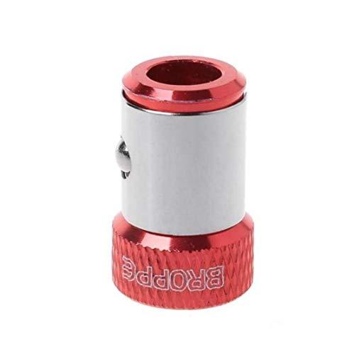PiniceCore 1pc Magnética del Anillo del Metal Destornillador Fuerte Magnetizador Tornillo del Colector De 1/4 Pulg 6,35 Mm Shank Puntas De Destornillador