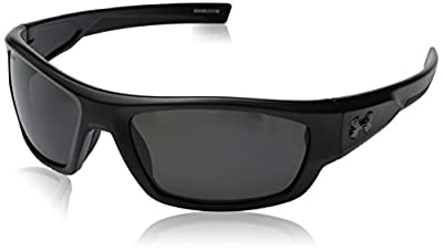 Under Armour Force Sunglasses Black / Gray Polarized Lens One Size Fits All
