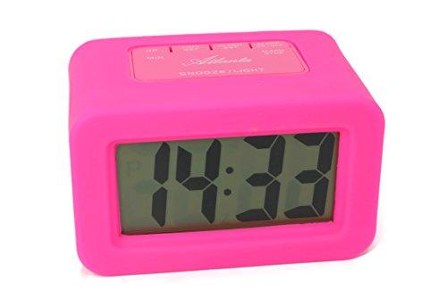 ATLANTA Despertador Digital Rosa Despertador LCD Cuarzo 1971–1