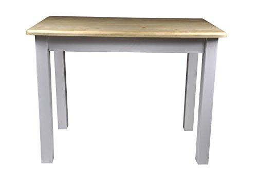 Magnetic Mobel Esstisch Küchentisch Tisch Massiv Kiefer Speisetisch in versch. Größen (70x70, Unbehandelt)