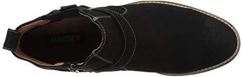 Madden Men's M-GRANTO Chelsea Boot Black Suede 9 M US