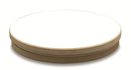 ARTSERVICE-TUBE Disco de alfarería manual con rodamiento de bolas, 30 cm, plato giratorio redondo para alfarería, alfarería, alfarería