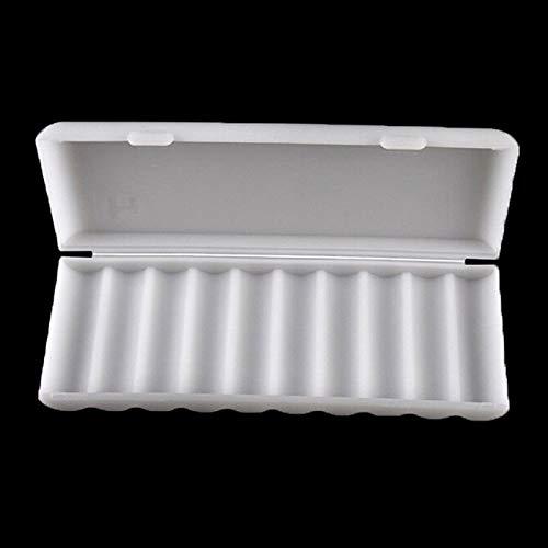 Box 18650-1pc 10x18650 Batterij Houder Case 18650 Opbergdoos Wit Hard Cover Organizer Container - Boxen Bins Organizers Opslag Boxen Bins Organizer Plastic Batterij Case Lithium HOL
