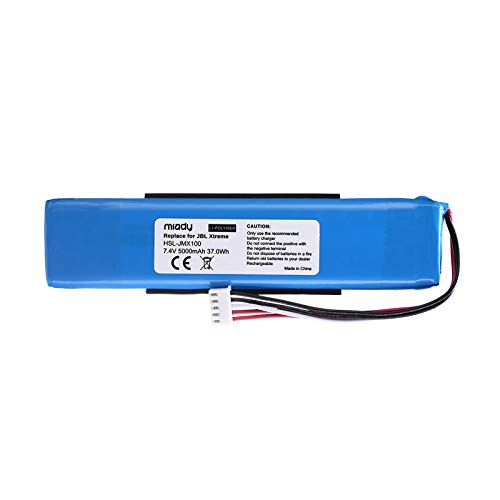 Miady Replacement Battery for Xtreme, Fits GSP0931134, 5000mAh 37Wh