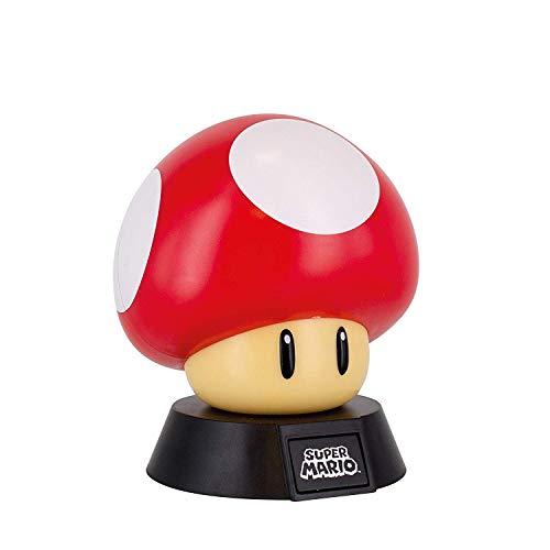 Super Mario - 3D lamp Power Up paddenstoel - Mushroom - geschenkdoos