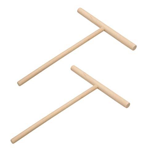BESTONZON Küchenwerkzeug für Teig und Pfannkuchen, 2 Stück