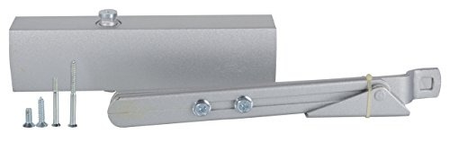 ssiskcon Door Closer Concealed Screw Dual Speed Sliding Cover 80-120kg - Pack of 1