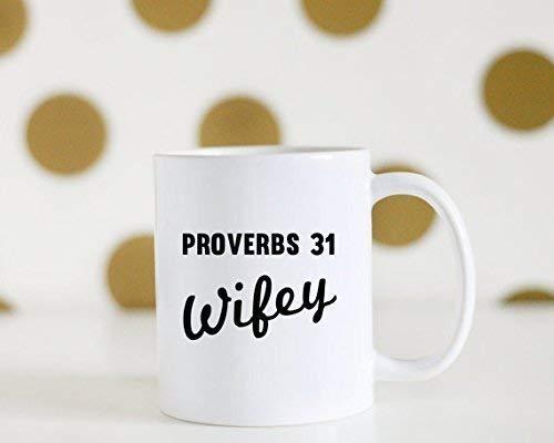 Not Applicable Proverbios 31 Taza de café, Taza de café Wifey, Proverbios 31 Esposa, Bibl