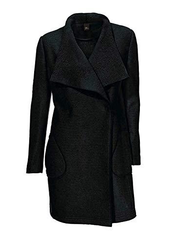 Wollmantel Mantel Damen von Best Connections in Schwarz - Gr. 46