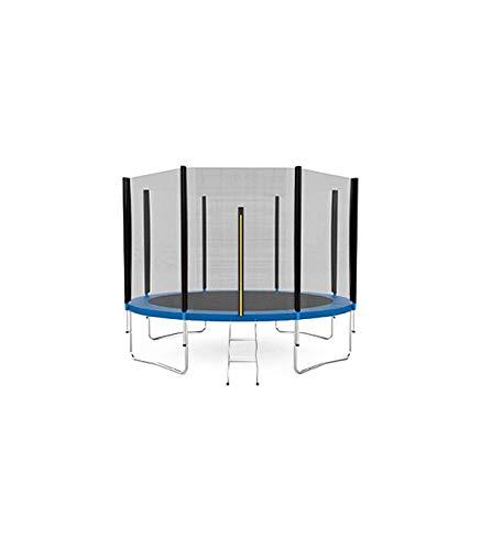 Wonduu - Cama Elástica trampolín Incl. Superficie de Salto, Red de Seguridad, Postes Acolchados para la Red | Zona de Salto de 183 cm de diámetro (6 Ft)