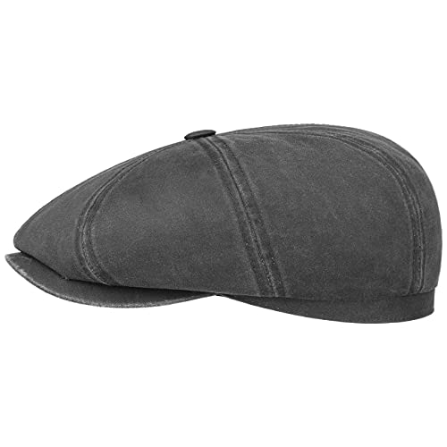 Stetson Gorra Plana Hatteras Old Cotton, Mujer/Hombre -...