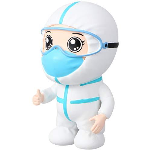Healifty Nurse Doctor Keyring Doll Pendant Keychain Nurse Doctor Medical Student Souvenir Gifts appreciation Gift