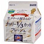 中沢フーズ 生クリーム屋さんのカロリー1/3カットフレッシュ 200ml
