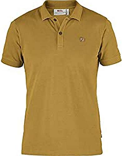 Fjällräven 81511 Övik Polo Shirt M Polo Shirt Mens Ochre L
