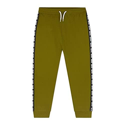 Fortnite Jogginghose Jungen | Sportswear Sport-Jogginghose Sweat Pants in Schwarz, Grau | Modischen Jogginghosen Geschenk Junge für leidenschaftliche Spieler (7-8 Jahre, Khaki)