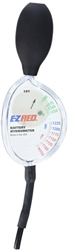 E-Z Red SP101 Battery Hydrometer, 1 pack