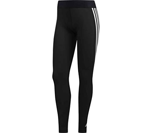 adidas Ask SP 3S L T Mallas, Mujer, Negro/Blanco, LT