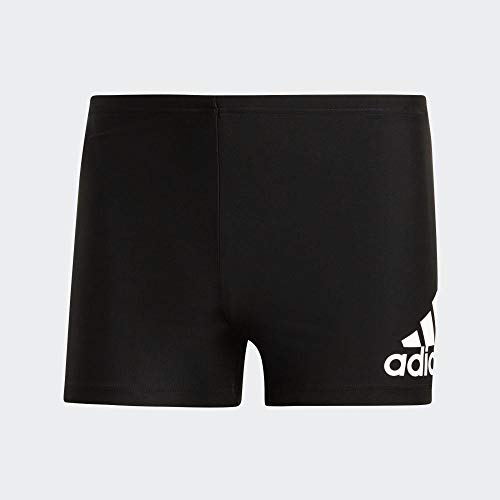 adidas Mens Fit Bx Bos Swim Trunks, Black/White, 10