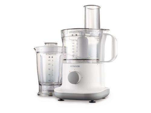 Kenwood FPP220 Robots de cocina, 750 W, 1.2 L, plástico, 2 velocidades, color blanco