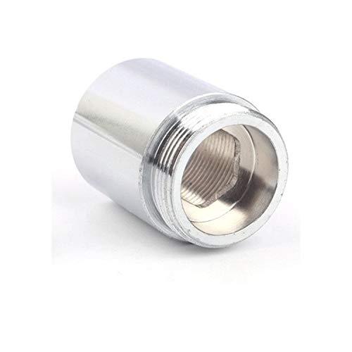 SHUICAIE Adaptador De Grifo, Extensión De Acero Inoxidable M22 A M22 Conector Roscado Faucet Aeroador Purificador De Agua Accesorios (Color : Female M22, Size : M22 M22)