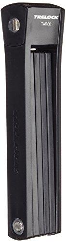 Trelock Faltschloss FS 200-100 Two Go L INCL Halter-Bracket, Orange, L