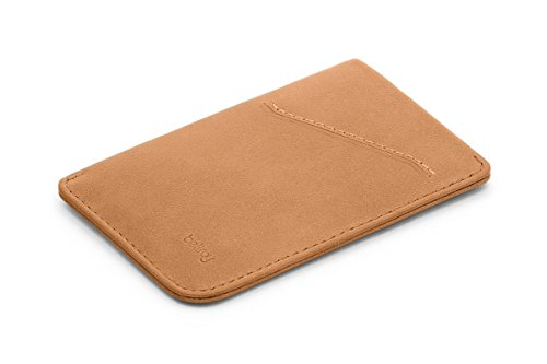 Bellroy Card Sleeve, slim leather wallet (Max. 8 cards and bills) - Tan
