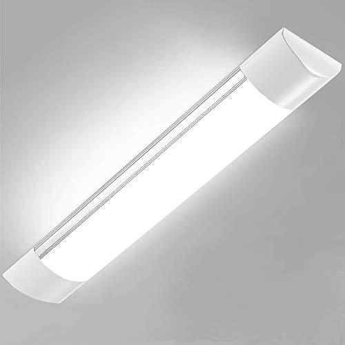 LED Leiste, Sararoom LED Lichtleiste 30W LED Unterbauleuchte 90CM led licht Neutralweiß 3600 Lumen 120° Abstrahlwinkel für Badzimmer Wohnzimmer Küche Garage Lager Werkstatt