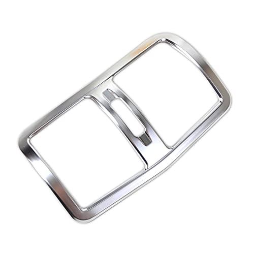 Accesorios de Interior Reposabrazos Cromado Caja Trasera Cubierta De Ventilación Salida De Aire Acondicionado Embellecedor para Mercedes para B-ENZ E Clase W212 2013-2015