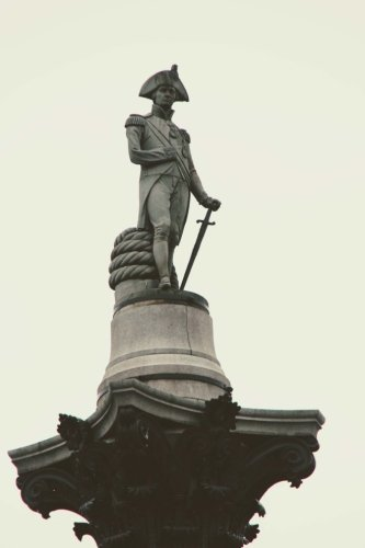 Statue of Napoleon in London, England Journal: Take Notes, Write Down Memories in this 150 Page Lined Journal