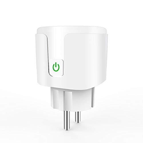 SHANGXIN Smart Plug Drahtlose Fernbedienungssteckdose Sprachsteuerungsstecker Flammhemmende Smart Power-Steckdose für Den Haushalt um Sicherheit zu Gewährleisten Und Die Lebensqualität zu