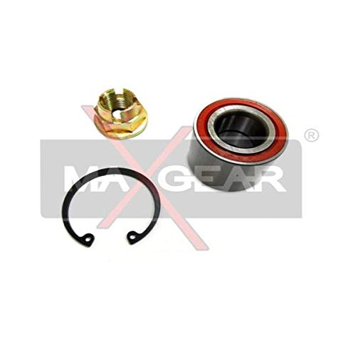 MAXGEAR 33-0318 Juego de rodamientos de rueda y juego de cojinetes de rueda trasera