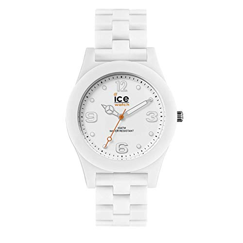 Ice-Watch - ICE slim White matte - Men's (Unisex) wristwatch with plaastic strap - 016245 (Medium)