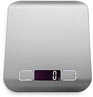 TenYua Digital Kitchen Scale Stainless Steel Electronic LCD Weight 5KG/1g Scale Libra Cooking Measure Tools Scales