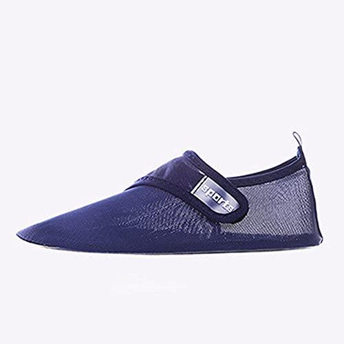 Laufschuhe für Männer und Frauen,Pareja de zapatos deportivos de natación, zapatos para correr, zapatos para exteriores, hombres y mujeres, azul B_46 / 47,Zapatos para correr de aire para mujer