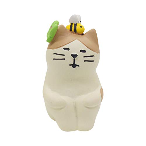 Easter Egg Bunny Gardener Cat Doll, Spring Sleep Resin Home Decoration for Fluffy Chicks And Easter Decorations