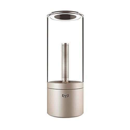 Yeelight Led Touch Dimmbare Flammen Lampe Tischleuchte 1800K USB rechargeable (Yeelight Umgebungslicht)