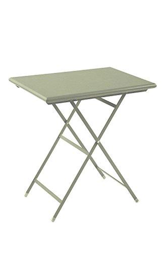 Emu Arc en Ciel Table pliante, en acier recouvert par pulvérisation, Couleur 71 Taupe 50 x 70 cm