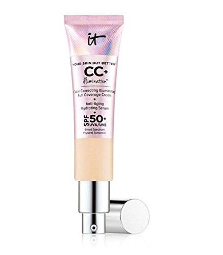 It Cosmetics Your Skin But Better CC+ Illumination Full Coverage Cream - 75 ml/2.53 Ounces - Medium