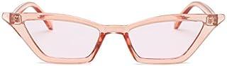 TYJYY Sunglasses New Women Small Cat Eye Sunglasses Vintage Men Fashion Red Shades Square Sun Glasses Uv400