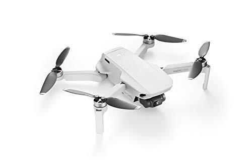 DJI Mavic Mini – Drohne, leicht und tragbar, Flugzeit: 30 Min, Übertragungsentfernung: 2 km HD-Videoübertragung, 3-Achsen-Gimbal, 12 MP, HD-Video 2,7 K